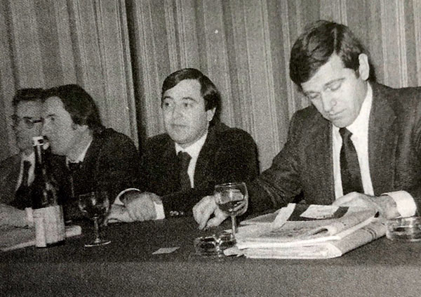 UILCA Giovanni Capobianco, Elio Porino, Giorgio Benvenuto